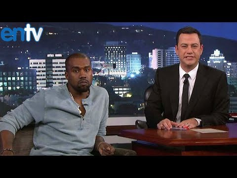 Jimmy Kimmel kanye west interview