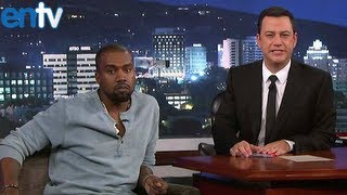 Kanye West Goes On Jimmy Kimmel To End Feud