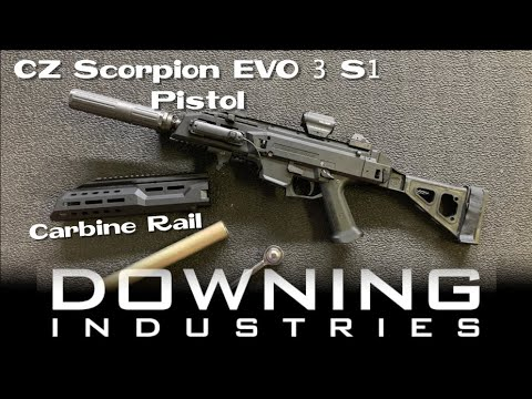 Going With A Longer Rail...Carbine Rail On A Scorpion Pistol