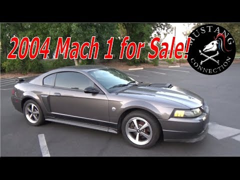 2004 mustang mach 1 for sale in los angeles mustang connection youtube. Black Bedroom Furniture Sets. Home Design Ideas