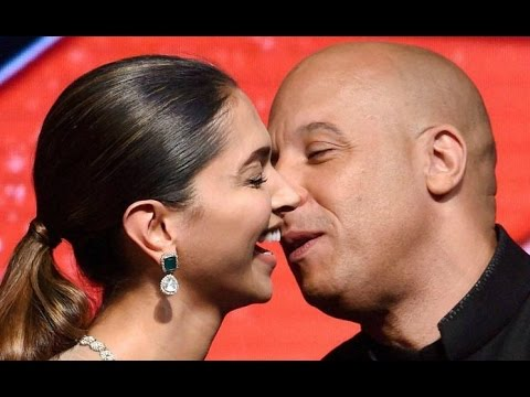 Vin Diesel Kiss Deepika Padukone On Stage thumbnail