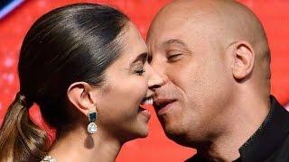 Vin Diesel Kiss Deepika Padukone On Stage