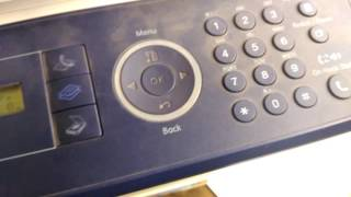 XEROX WC3210 Ошибка сканера и замятие док