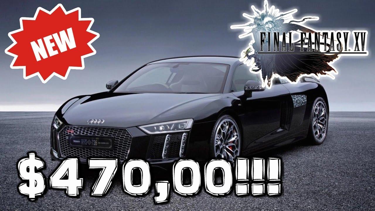 Final Fantasy Xv Special Edition Car Omg Youtube