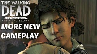 "The Walking Dead:Season 4: ""The Final Season"" New Gameplay- Twd S4 Gameplay Better Quality Demo"