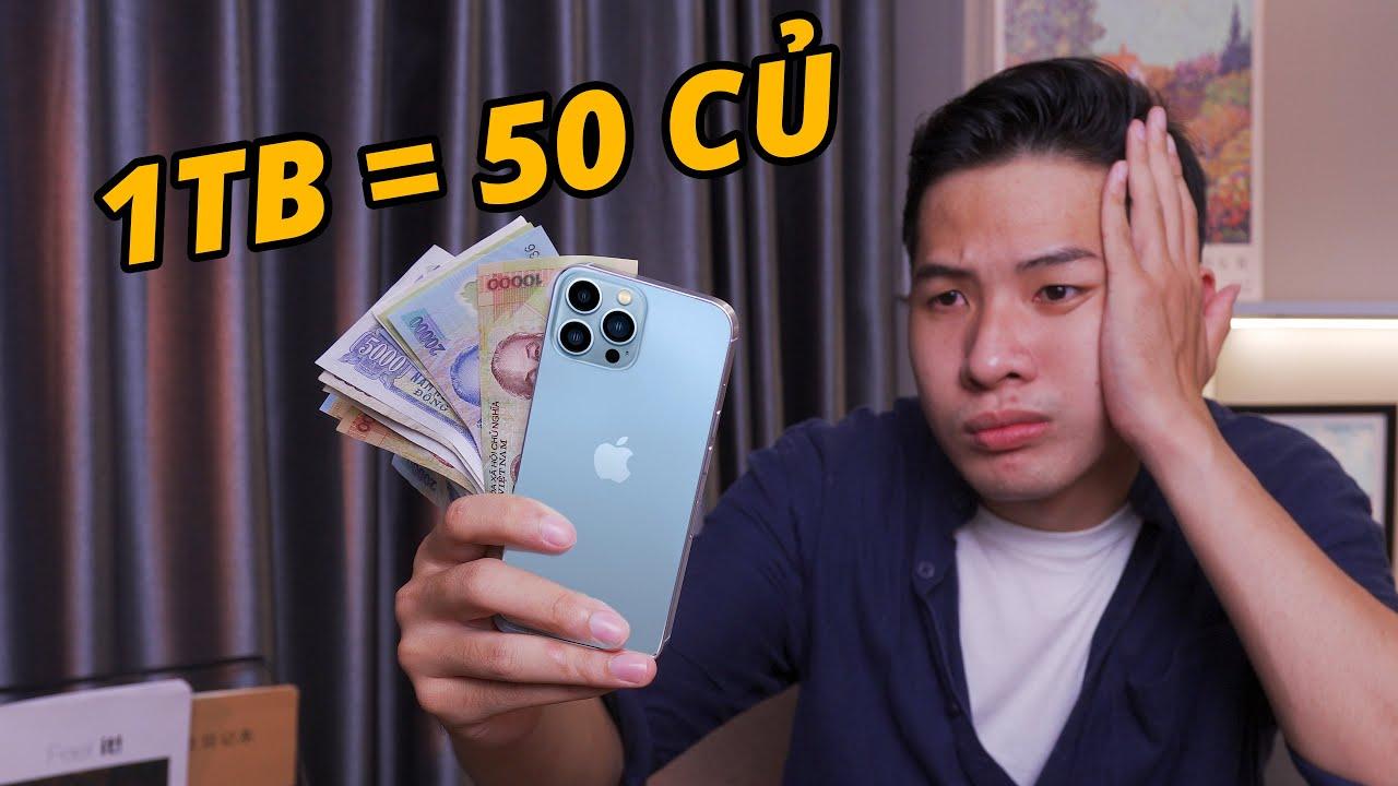 Download ĐÂY LÀ iPHONE 13 PRO MAX: BẢN 1TB GIÁ 50 TRIỆU !!!