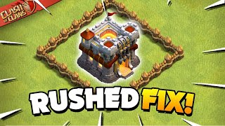 Fix it Fast! Rushed Base Recovery Guide (Clash of Clans)