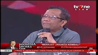 ILC Logika Cerdas Prof Mafud Md - Habib Rizieq Tidak Radikal Anti Pancasila