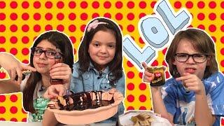 OYUNCAKOYNUYORUM Tv ile Çikolata Şelalesi Oynuyoruz! - Yarışmayı Kim Kazanacak?
