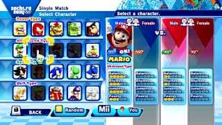 Mario and Sonic at the Sochi 2014 Olympic Winter Games - Part 14: Figure Skating Pairs