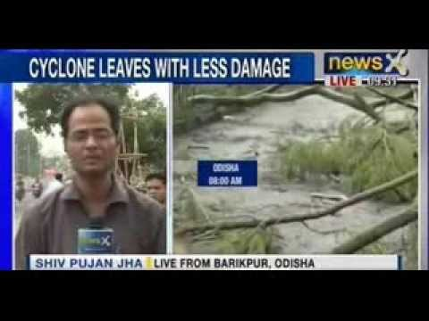 NewsX : Phailin Cyclone- Rescue operation begins in Odisha,