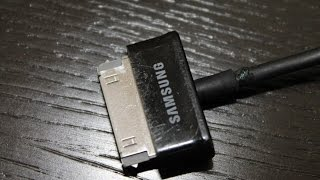 не совсем удачный ремонт кабеля Samsung Galaxy Tab 2