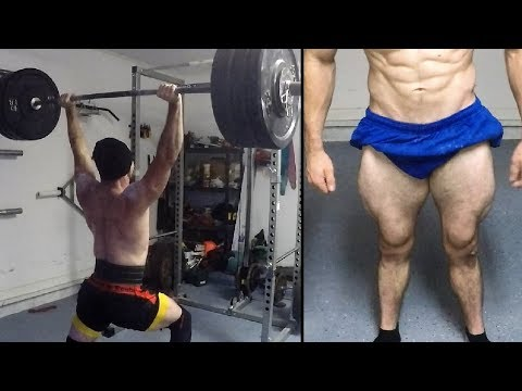 Vlog #37: Squat 390lbs X 3x3 | Rack Jerk 240lbs X 5 | Deadlift 455lbs X 5
