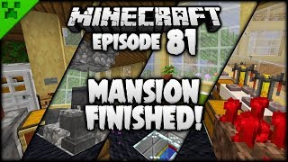 FINISHING ALL The MANSION Rooms!   Python
