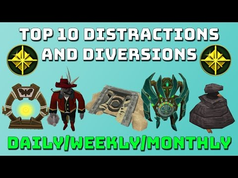 Top 10 D&D's (Distractions and Diversions) [Runescape 3]