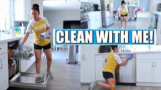 CLEAN WITH ME: KITCHEN DEEP CLEANING