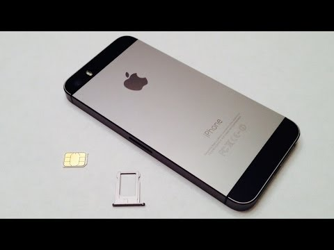 Iphone 5s How To Insert Remove Sim Card