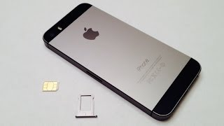 iPhone 5S HOW TO: Insert / Remove a SIM Card