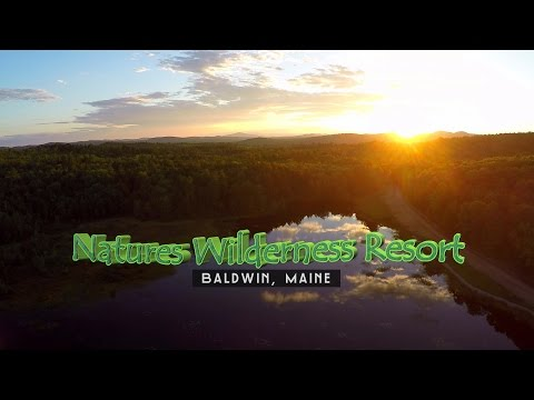 Natures Wilderness Resort Campgrounds in Maine USA - Preview