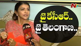 జై సీఎం... జై తెలంగాణ...Manchu Lakshmi Reaction On 4 Accused Encounter | NTV
