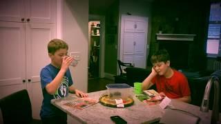 Two kids make amateur horror film