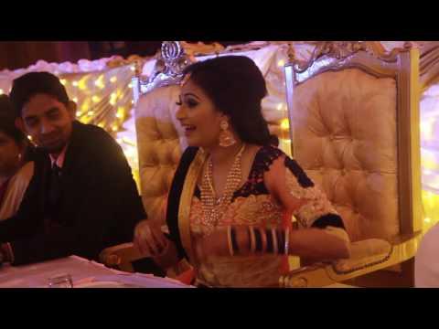 HD Indian Cinematic Wedding Reception    Thiyagarajan + Sharmini    11.12.2016 {OMMKAR STUDIO}