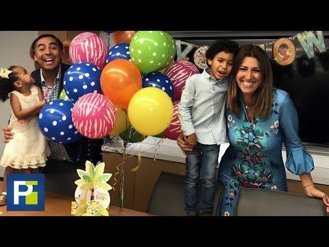 La vida le tenía reservado un regalo a nuestra reportera Xiomara González: sus dos hijos adoptivos