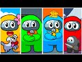 - ⭐️ TOP 10 BEST AMONG US ANIMATIONS COMPILATION #3