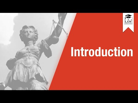 Criminal Law - Introduction