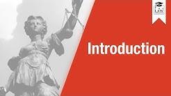Criminal Law - Introduction