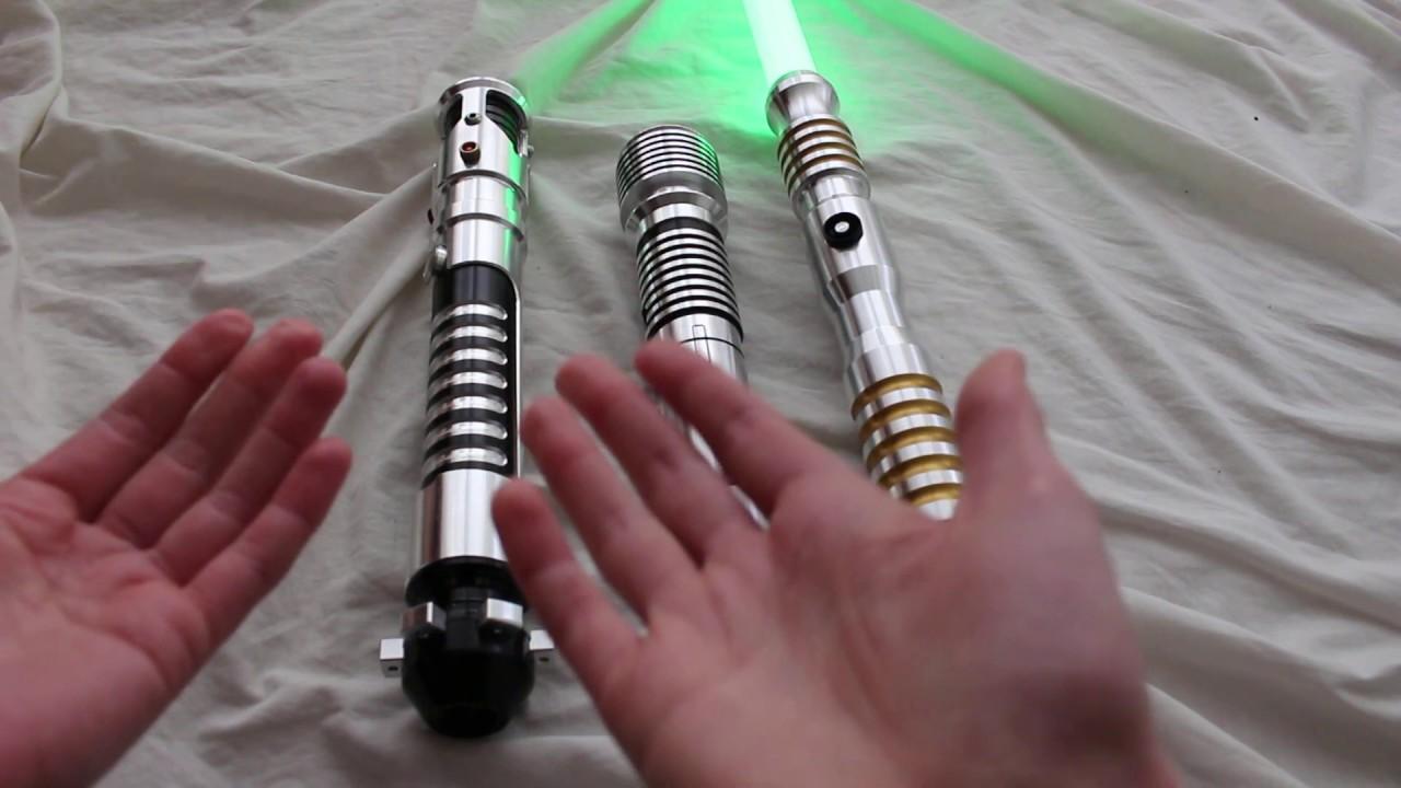 Hasbro Star Wars Bladebuilders Jedi Knight Lightsaber V1X