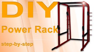 DIY Power rack  - home gym equipment