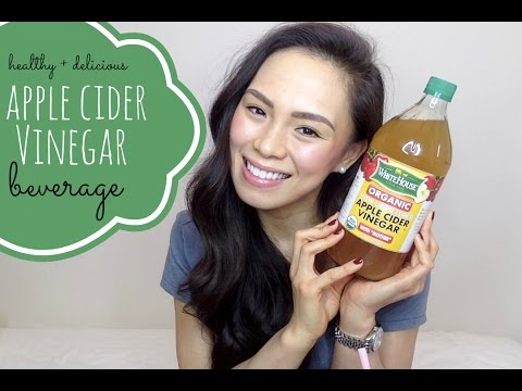 Apple Cider Vinegar Beverage | curb cravings, lose weight, clear skin and fight fatigue!