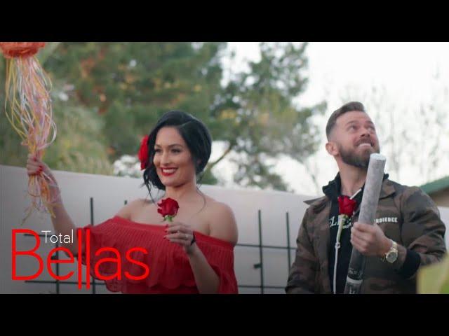 Nikki Bella & Artem Chigvintsev\'s Baby Gender Reveal   Total Bellas   E!