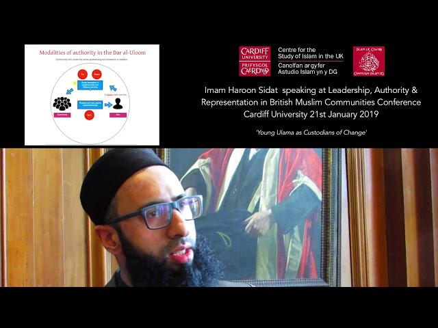 Imam Haroon Sidat – Young Ulama as Custodians of Change