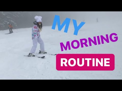 MY MORNING ROUTINE❤️LA MUNTE💕|#WinterWithLaylly❄️