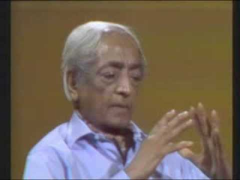 J. Krishnamurti - San Diego 1974 - Conversation 6 - The nature and total eradication of fear