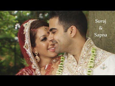 Indian Hindu Wedding at Savill Court Hotel, Surrey | Bloomsbury Films ®