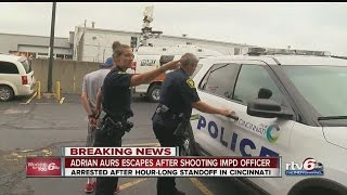 Indianapolis police officer charged with attempted murder