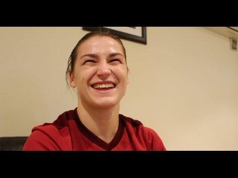 SENSATIONAL! - PHENOMENAL KATIE TAYLOR MAKES STUNNING PRO-DEBUT BY DESTROYING KARINA KOPINSKA