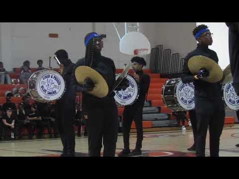Fort Lauderdale High School Loud & Proud Blue Smoke at the CHOPS Drumline Battle