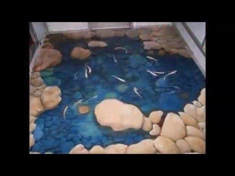 Pavimenti In 3d Resine Speciali Youtube