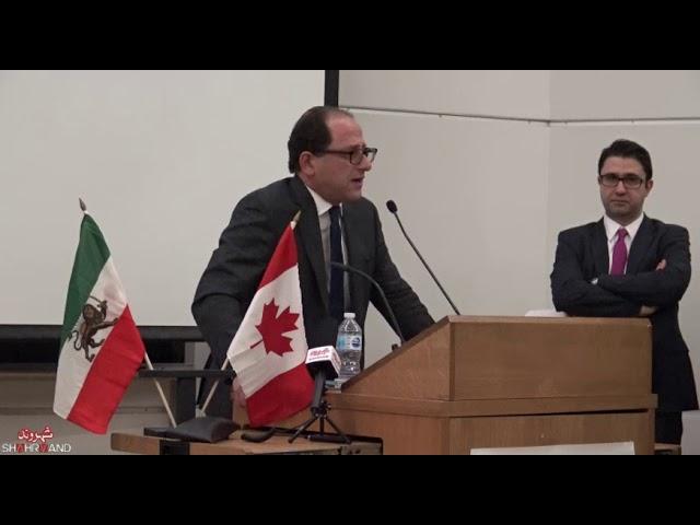سخنرانی علی احساسی در همایش جامعه مدنی ایران و راهی به سوی دمکراسی