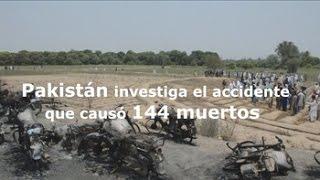 Pakistán investiga la explosión del camión que dejó 144 muertos y 120 heridos