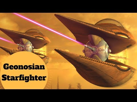 Driven by Smell? - GEONOSIAN STARFIGHTER - Nantex-Class - Star Wars Clone Wars Ships Breakdown