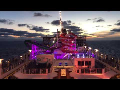 Norwegian Getaway cruise Day 7 - At Sea - December 16th, 2017 4K Part 3