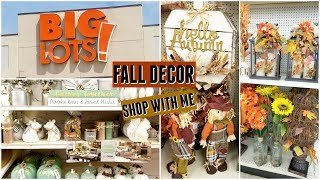Big Lots Fall Decor Shop with Me 2018