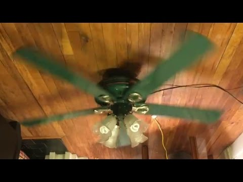 Hunter right at home ceiling fan green blades youtube hunter right at home ceiling fan green blades aloadofball Gallery