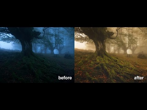 CJ7: How To Edit A Foggy, Moody Landscape In Photoshop