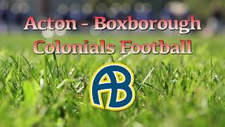 Colonials Football Wk 8 @ CC 10/27/17